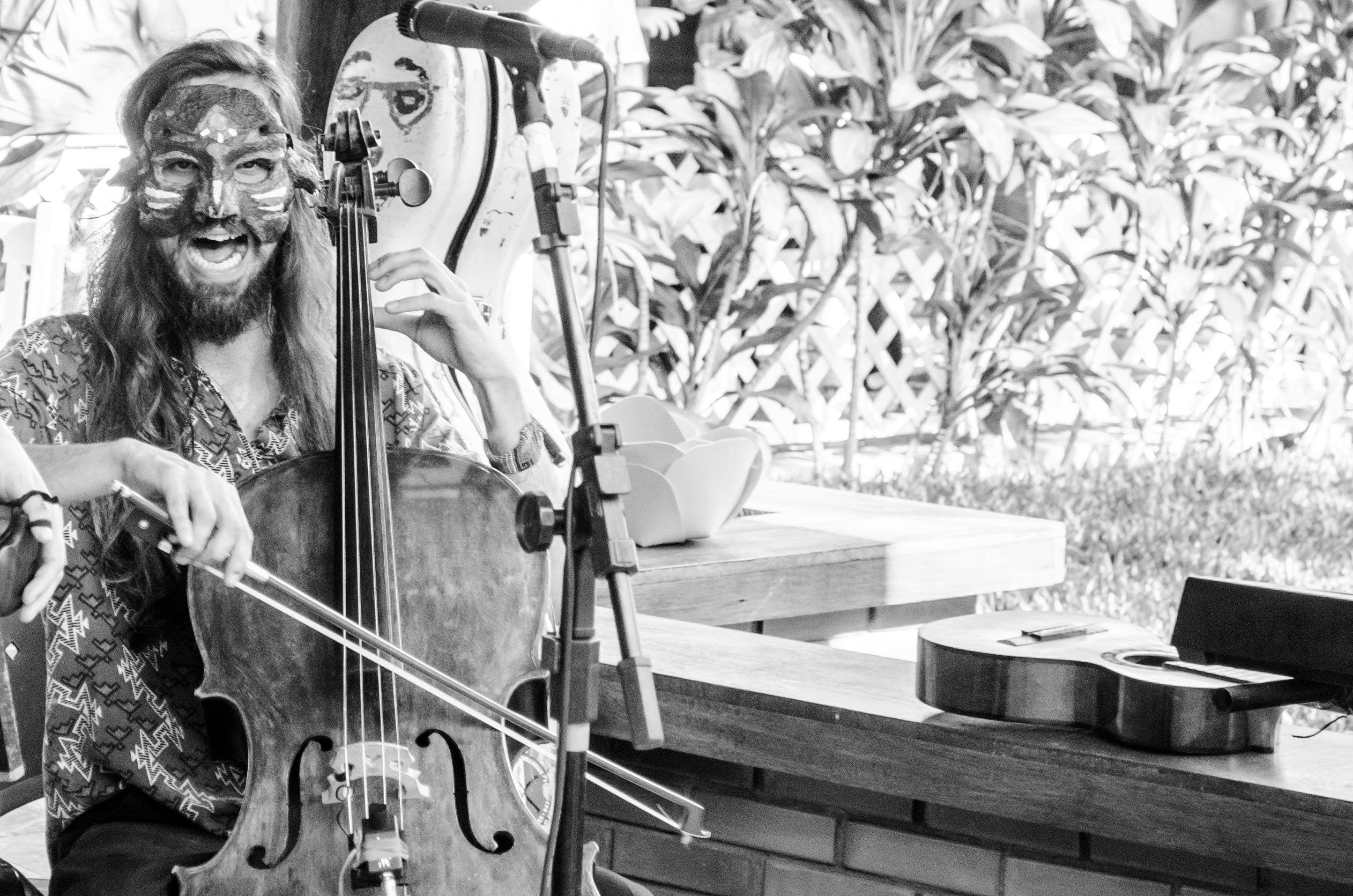 Free stock photo of cello, creativity, hands, live