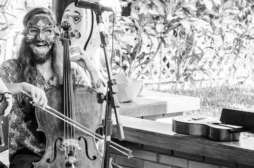 Základová fotografie zdarma na téma cello, hudba, hudebník, mask