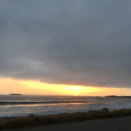 Free stock photo of cloud, los angeles, ocean