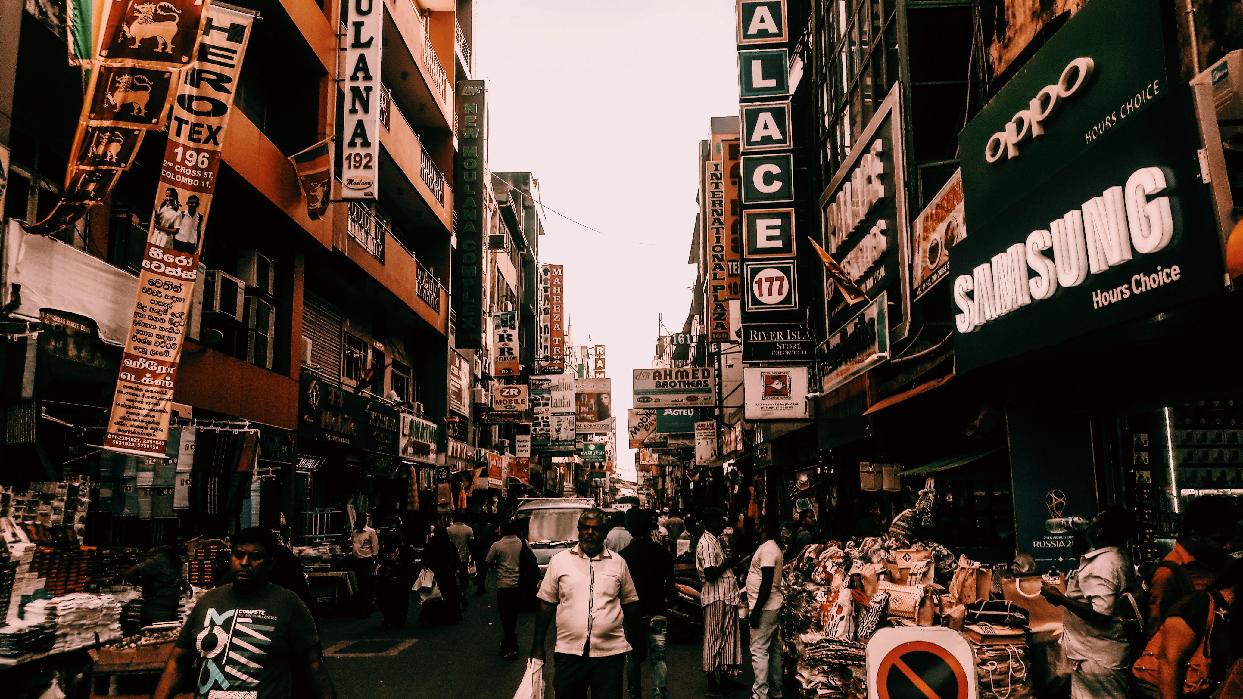 คลังภาพถ่ายฟรี ของ การท่องเที่ยว, คน, คนเอเชีย, ตลาด