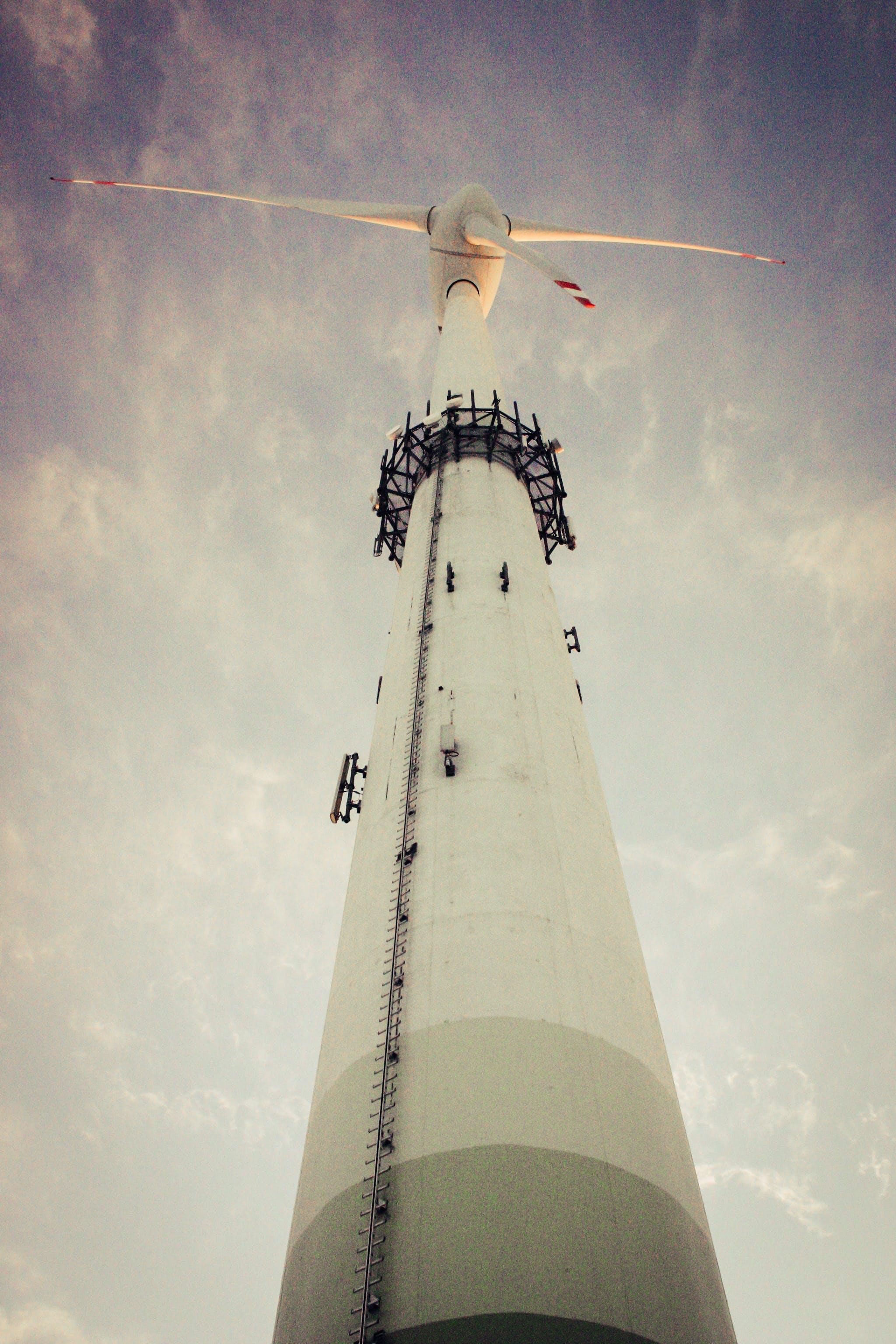 Free stock photo of energy, renewable energy, wind, wind generator