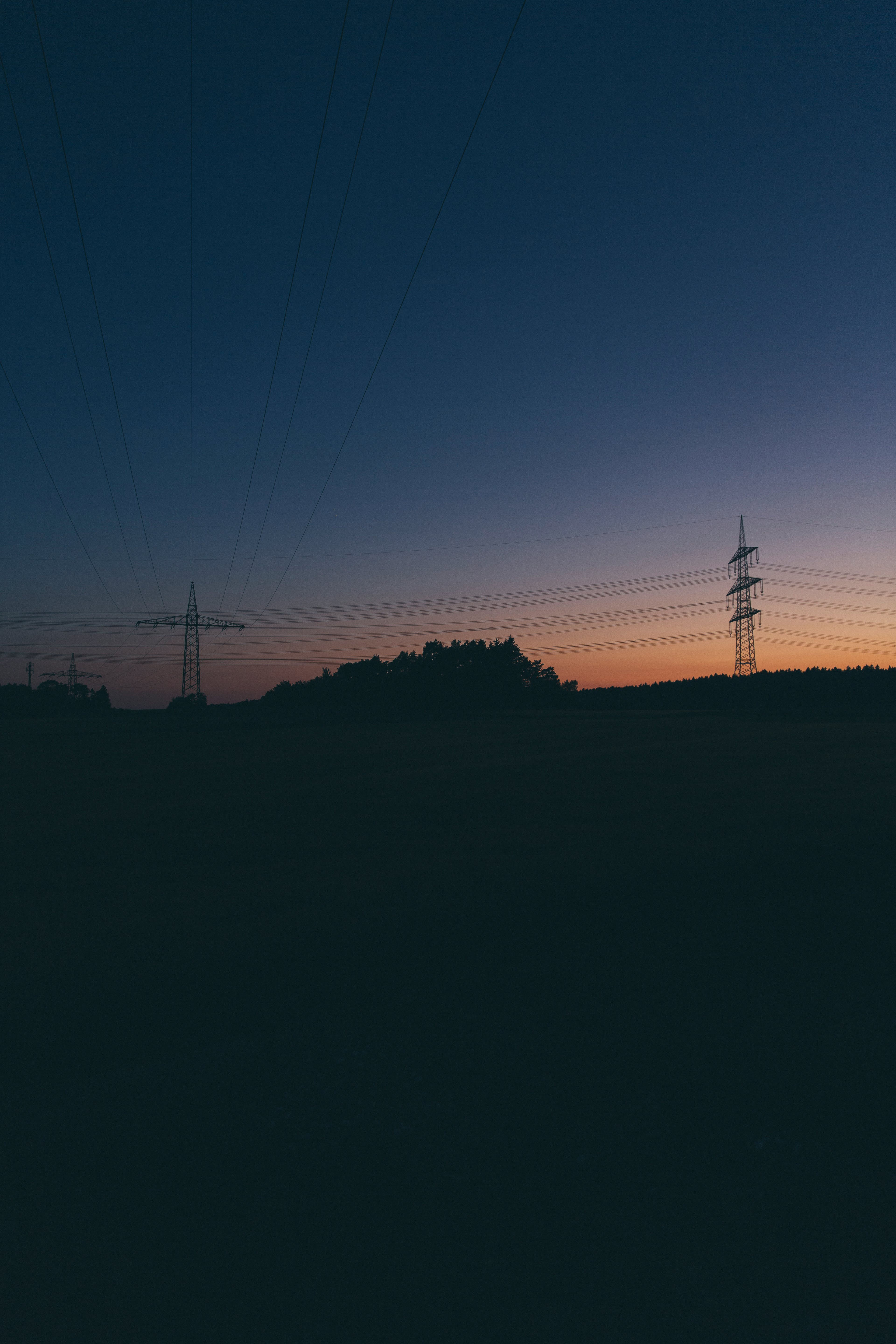 Free stock photo of electrical, electrical tower, energy, power lines