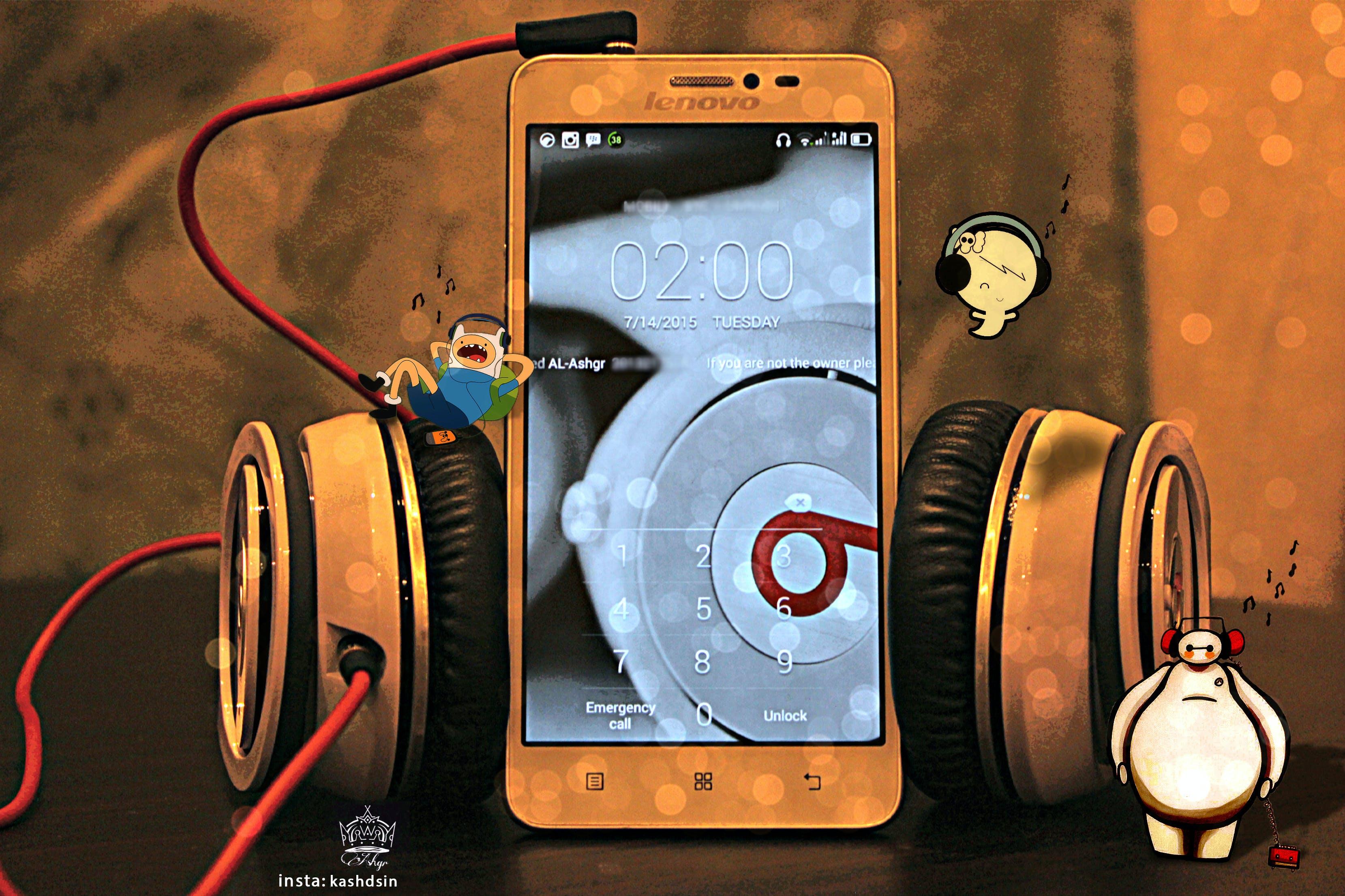 Free stock photo of beats, jack, lenovo, mood