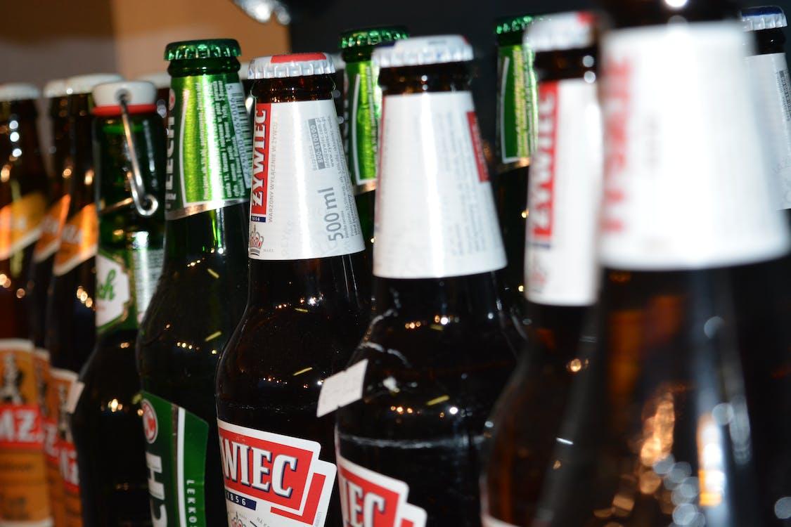 ampolles, begudes alcohòliques, cervesa