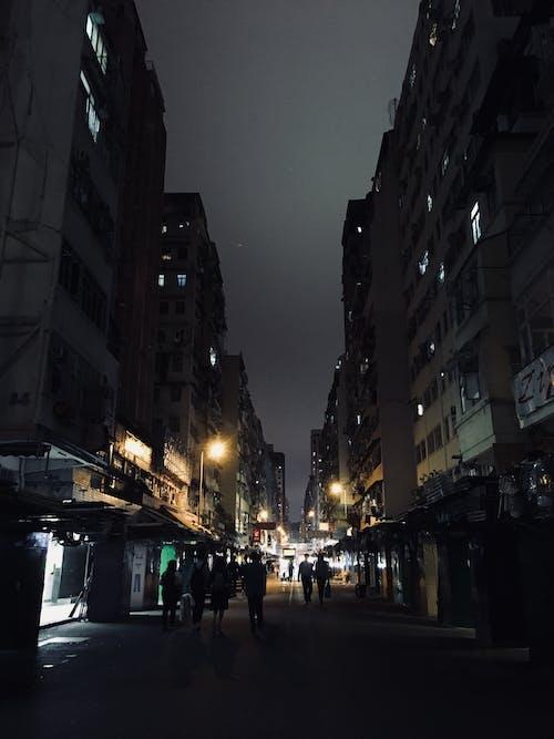 Foto d'estoc gratuïta de nit