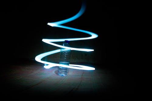 Kostnadsfri bild av elva fotografering, flaska, lampa, ljus