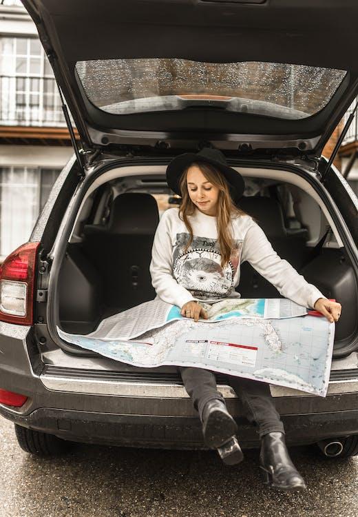 äventyr, bil, bilresa