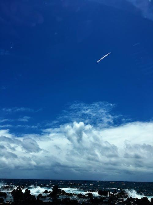 Δωρεάν στοκ φωτογραφιών με maui, γαλάζιος ουρανός, διάττων αστήρ, καλαμποκιές