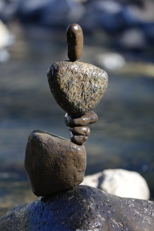 Free stock photo of art, rock balancing, sculpture