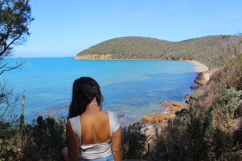 Gratis stockfoto met aan zee, baai, bergen, blauw