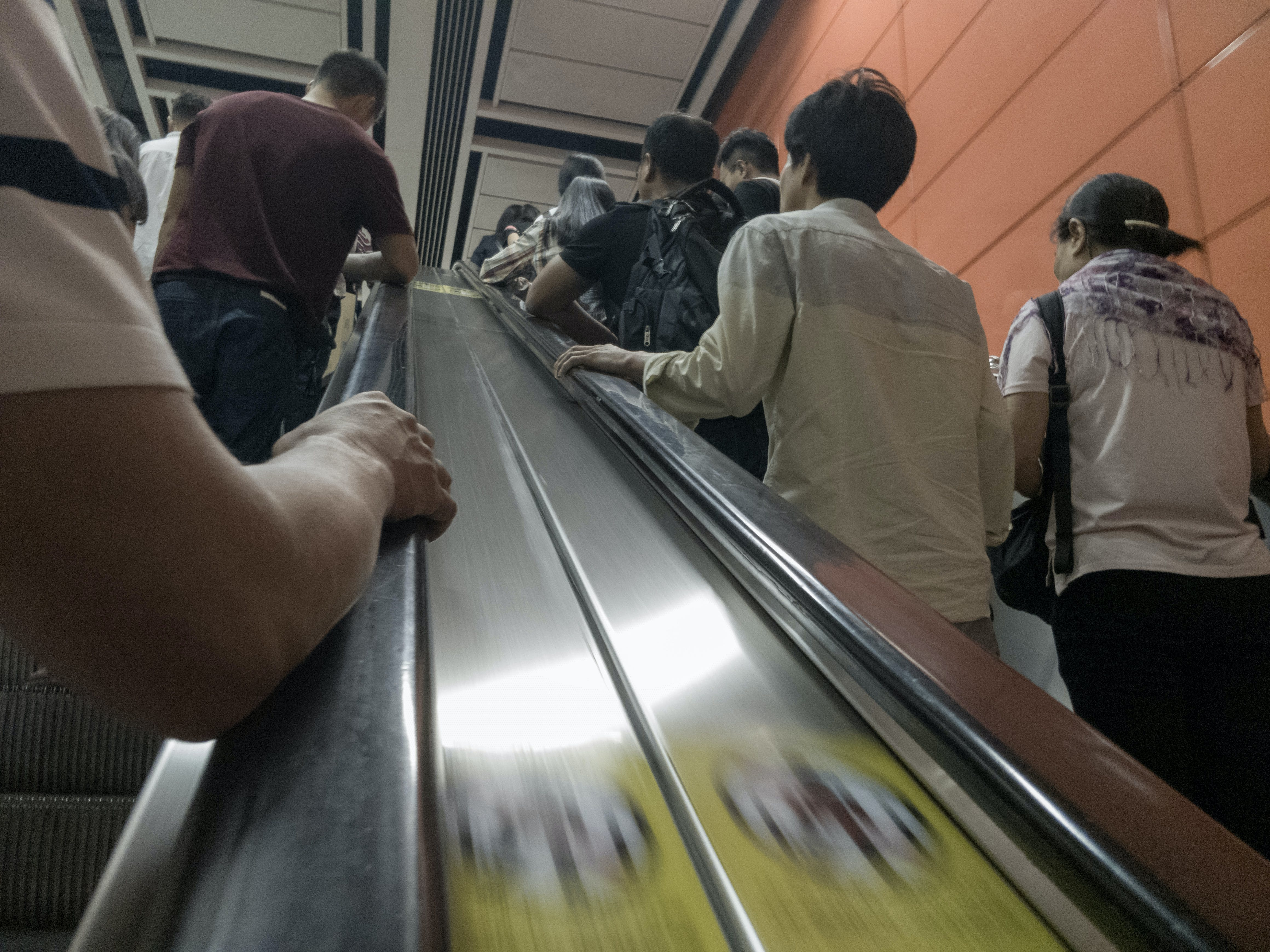 Free stock photo of drudgery, escalator, going to work, start the day
