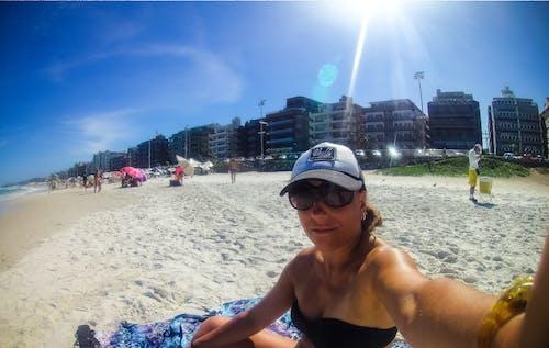 Δωρεάν στοκ φωτογραφιών με απογευματινός ήλιος, παραλία