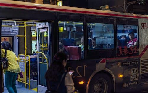 Ingyenes stockfotó buszmegálló témában