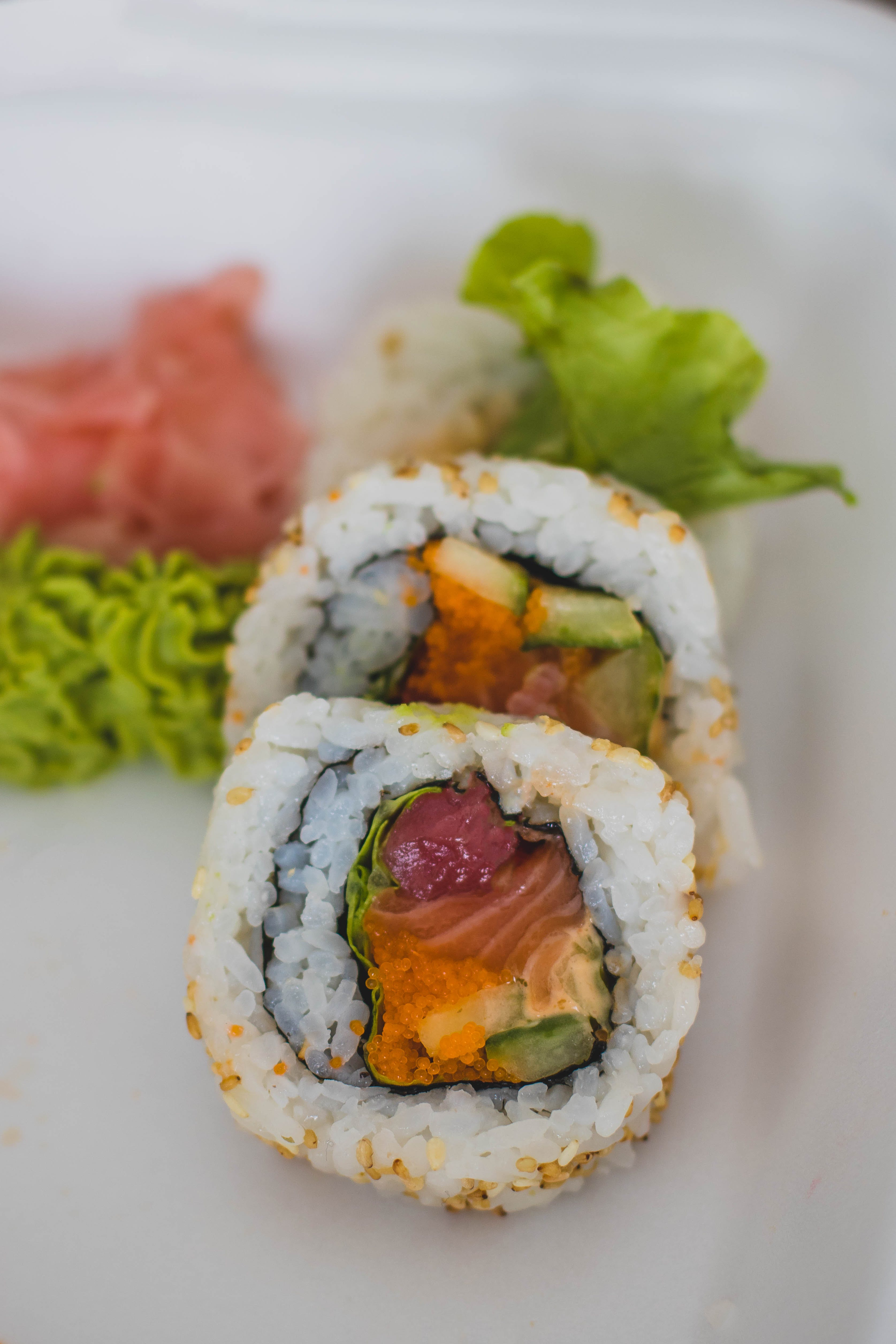 Rolled Rice With Vegetables
