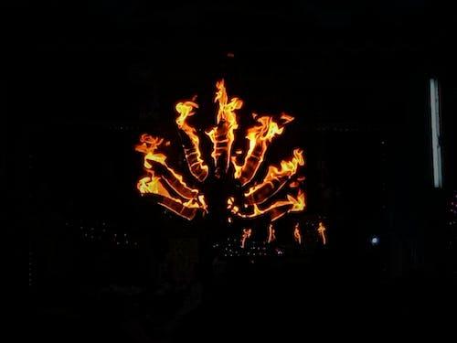 Darmowe zdjęcie z galerii z ciemny, czarny, festiwal, ogień