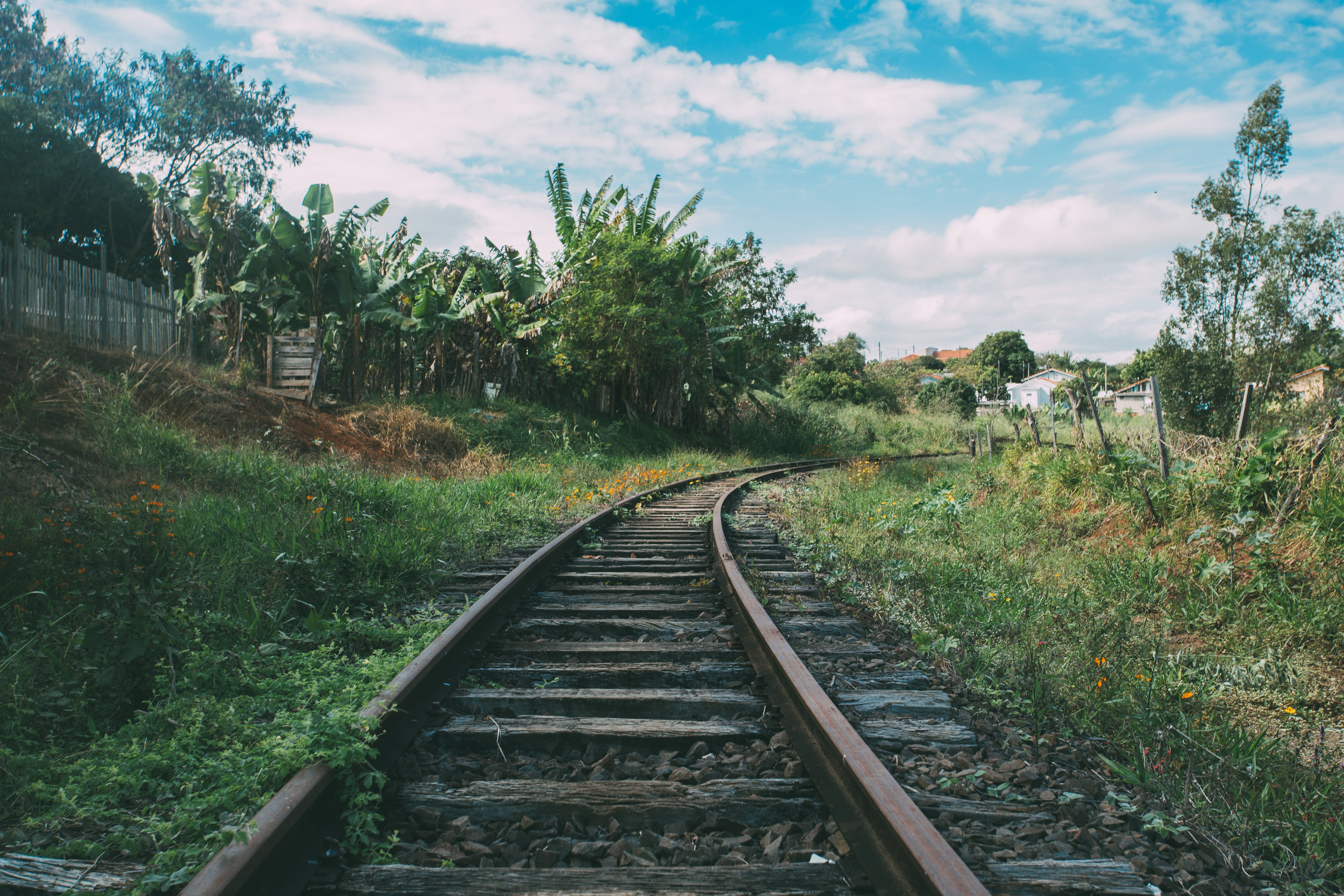 Základová fotografie zdarma na téma denní světlo, dopravní systém, krajina, křivka