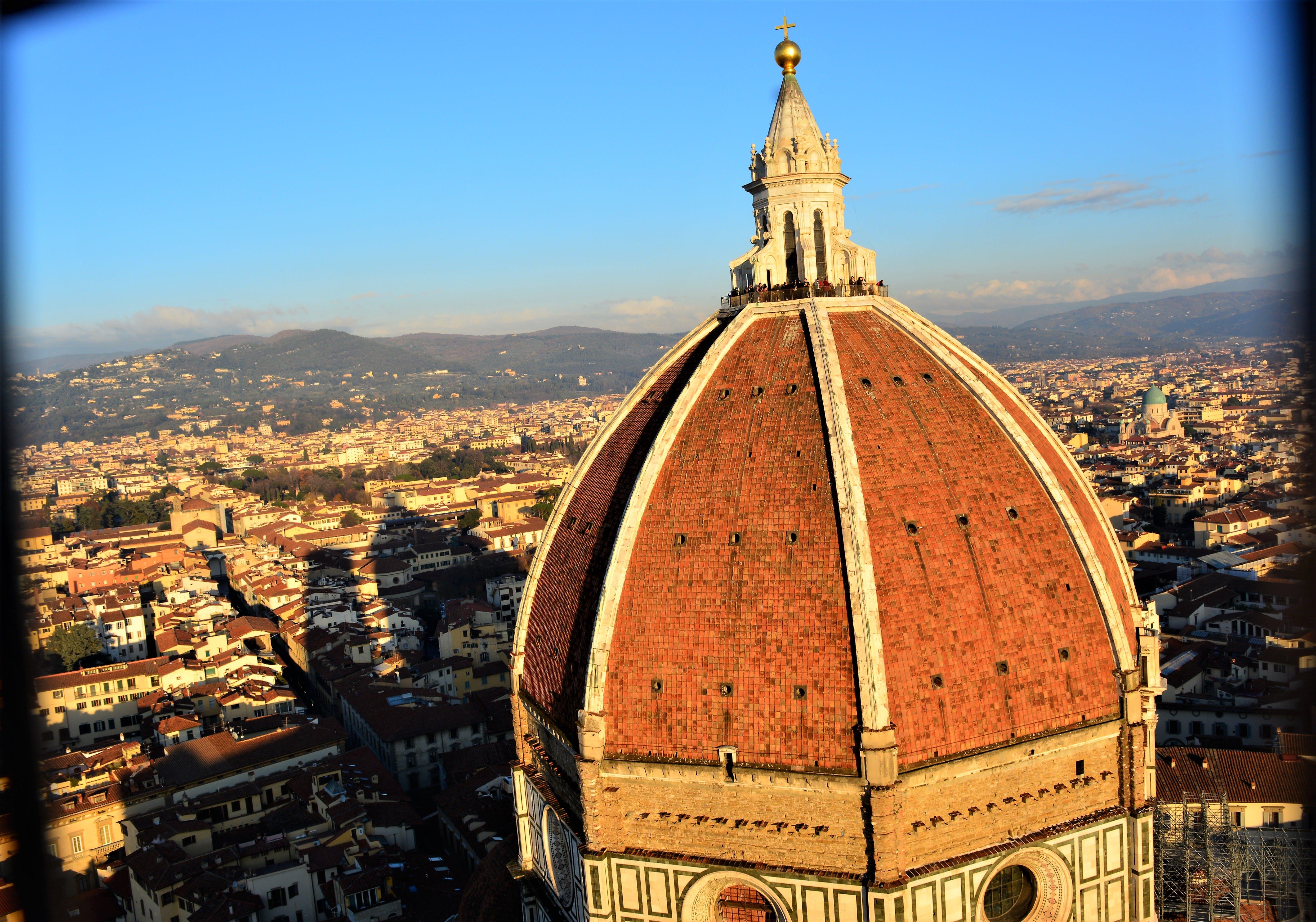 Gratis lagerfoto af firenze, florence katedral, kuppel