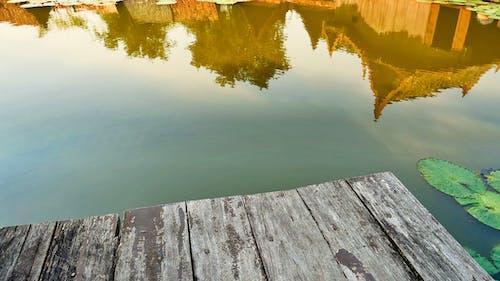 Foto profissional grátis de água, aldeia, calma, caminho