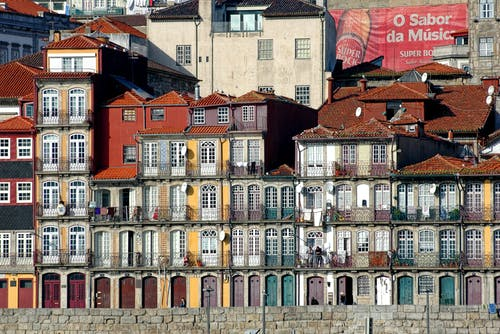 Безкоштовне стокове фото на тему «douro, oporto, ribeira, Windows»