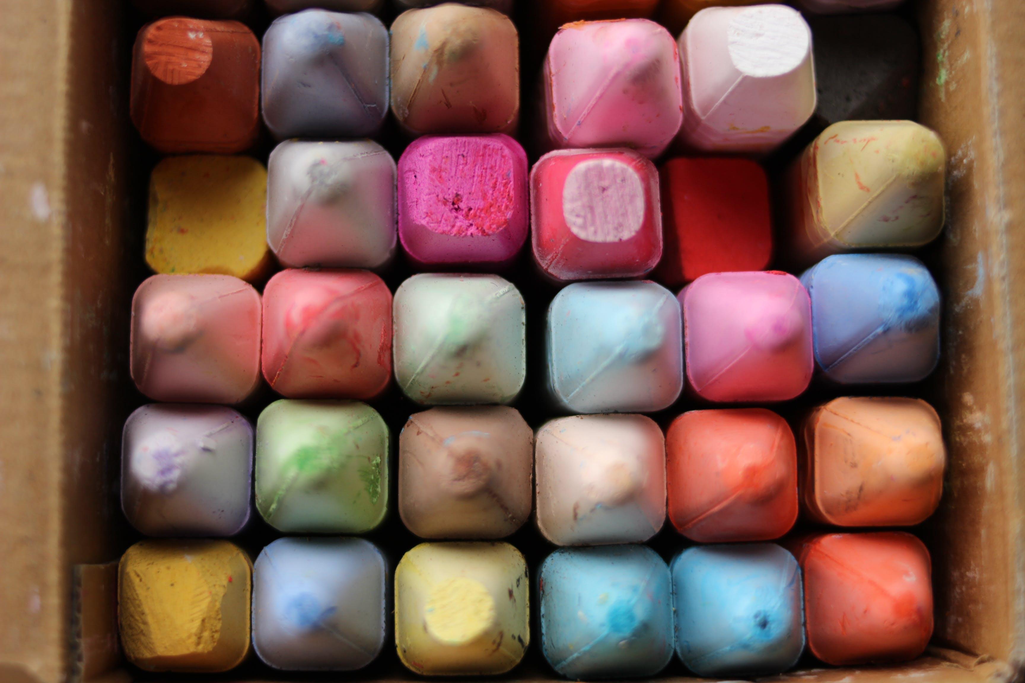 Gratis stockfoto met hoop, kleur, kleuren, krijt kleuren