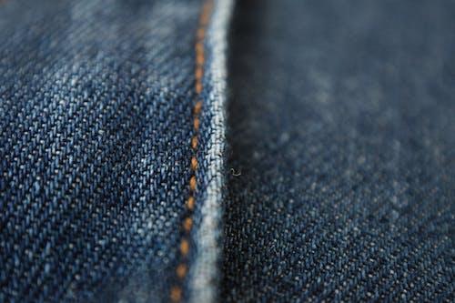 デニムパンツ, マクロ, 縫い目の無料の写真素材