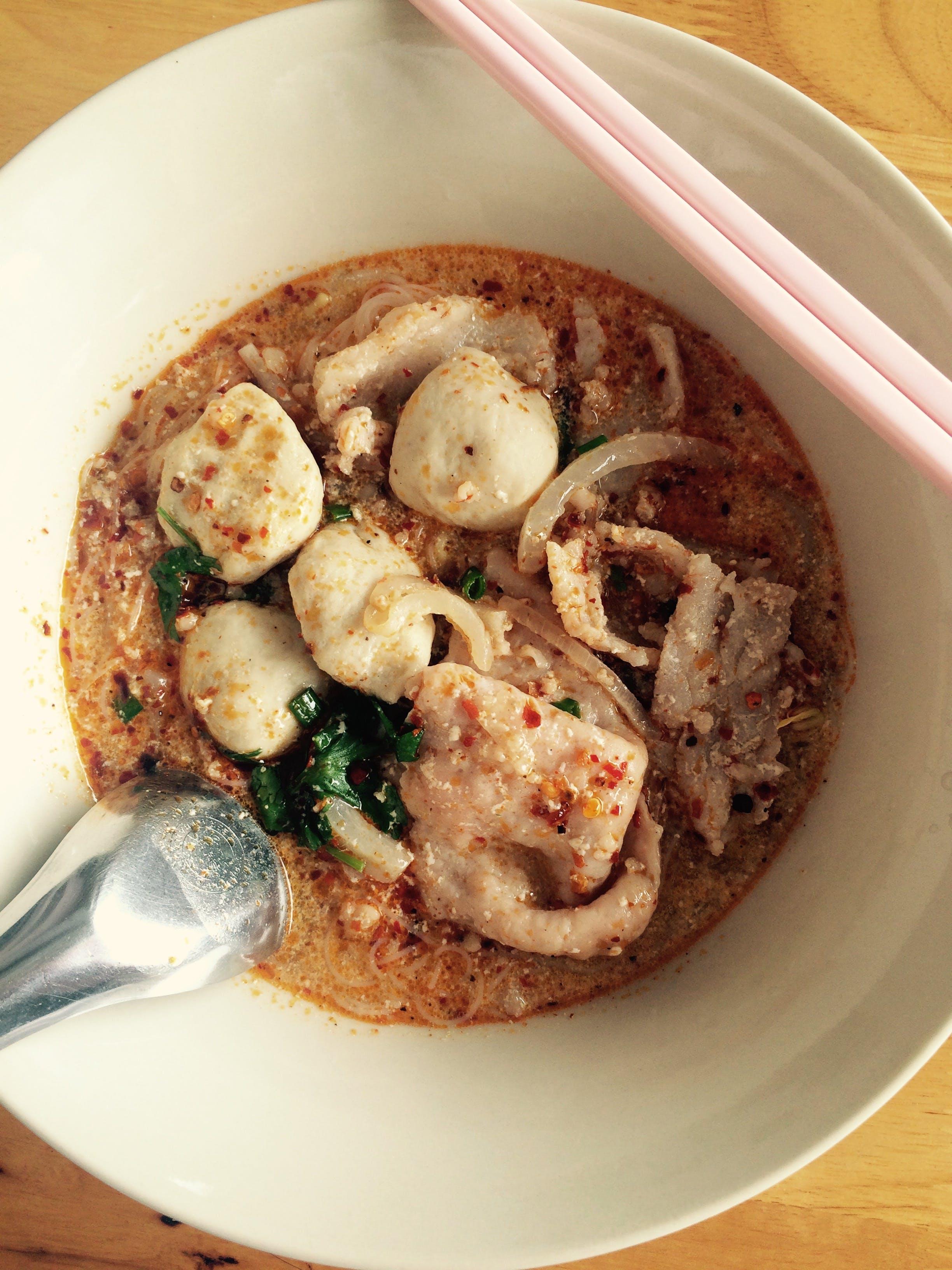 Free stock photo of food, guayteawtomyam, noodles, thai
