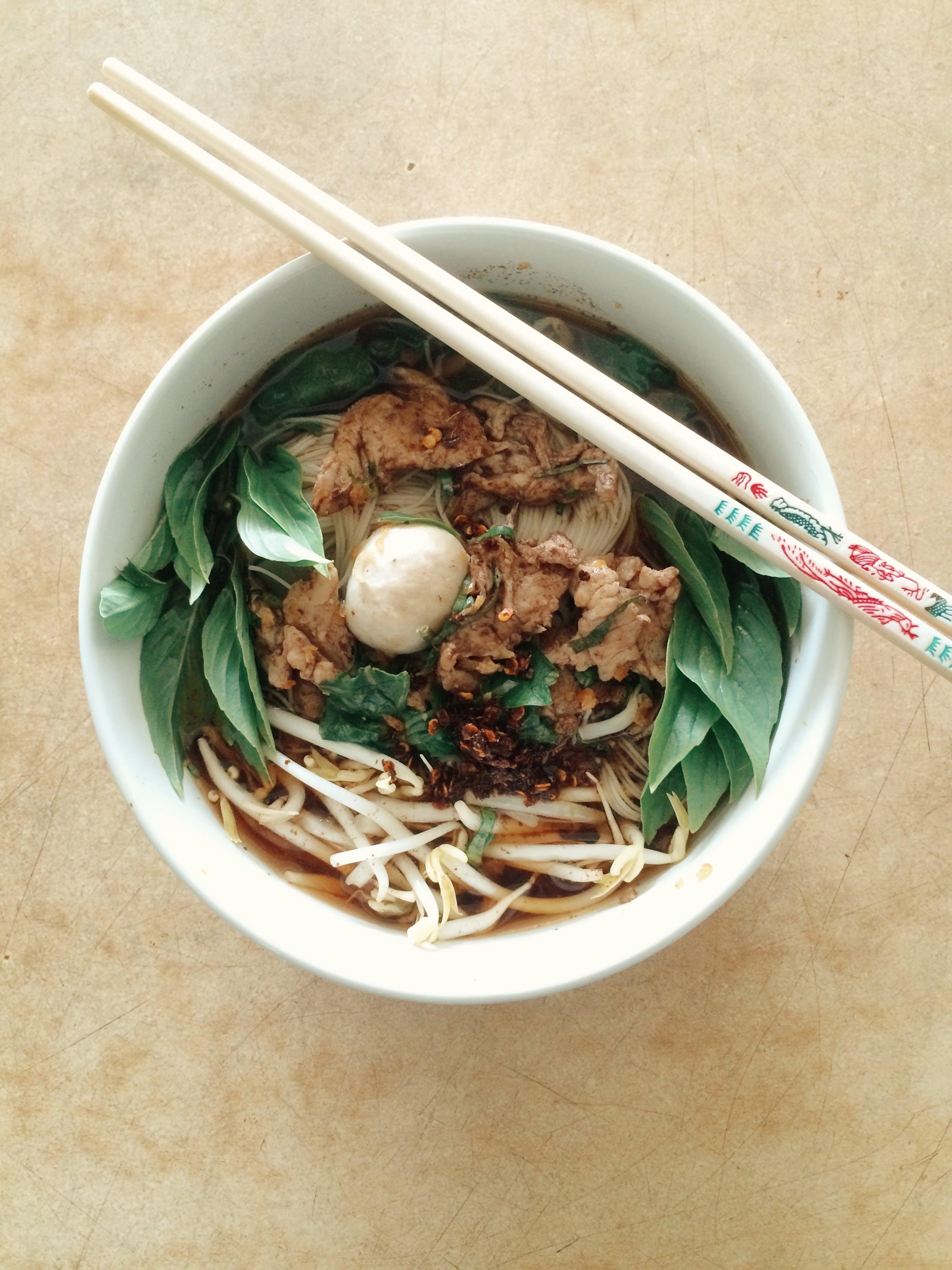 Free stock photo of food, guaytewrua, noodles, thai