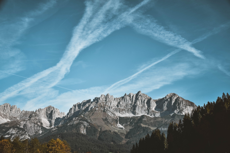 Foto stok gratis awan, dasar, gambar latar belakang, gunung