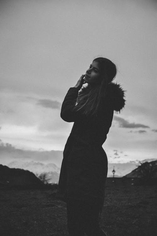 Free stock photo of beautiful, beauty, black, black and white