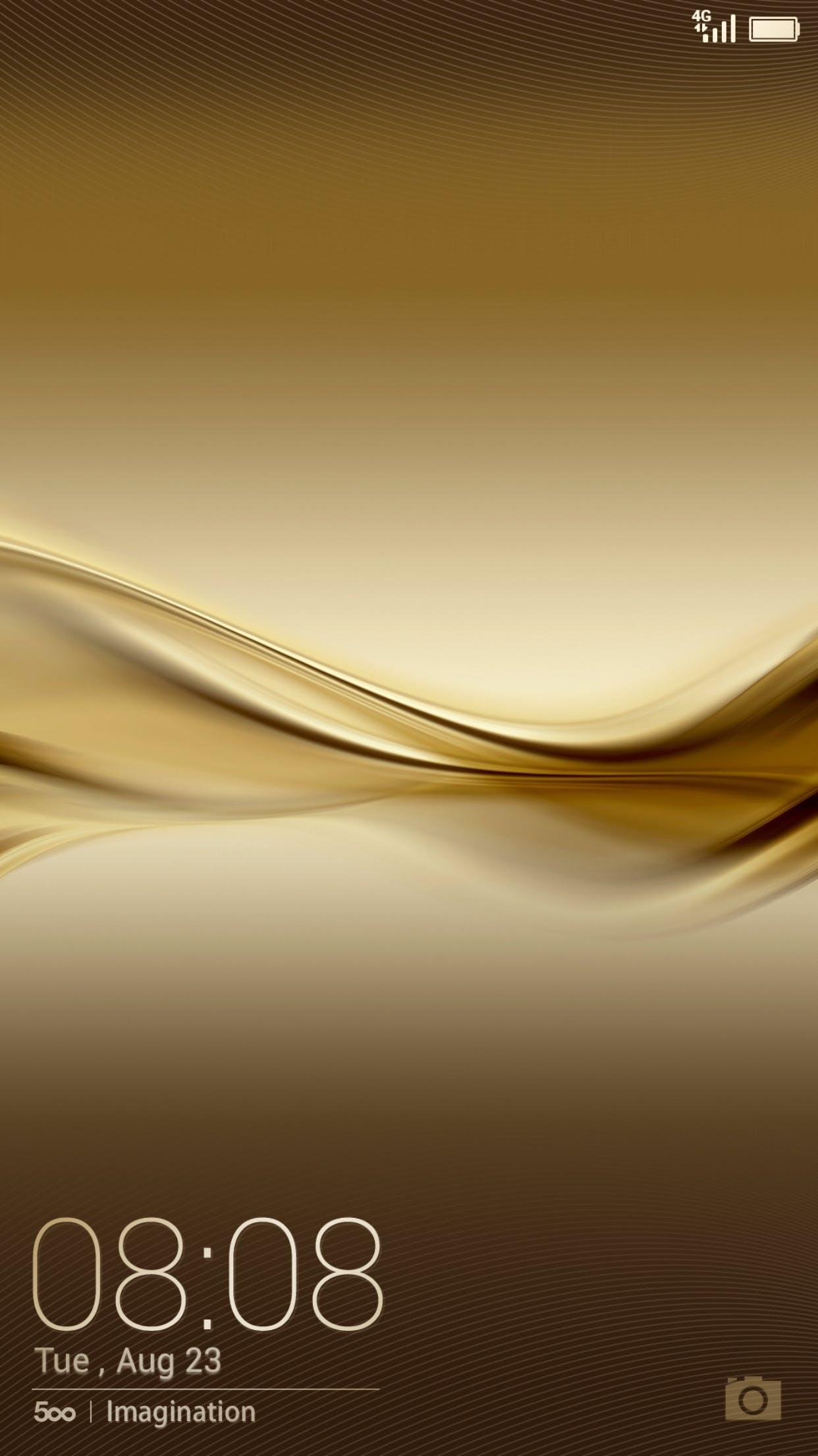 Free stock photo of Huawei Gold Theme