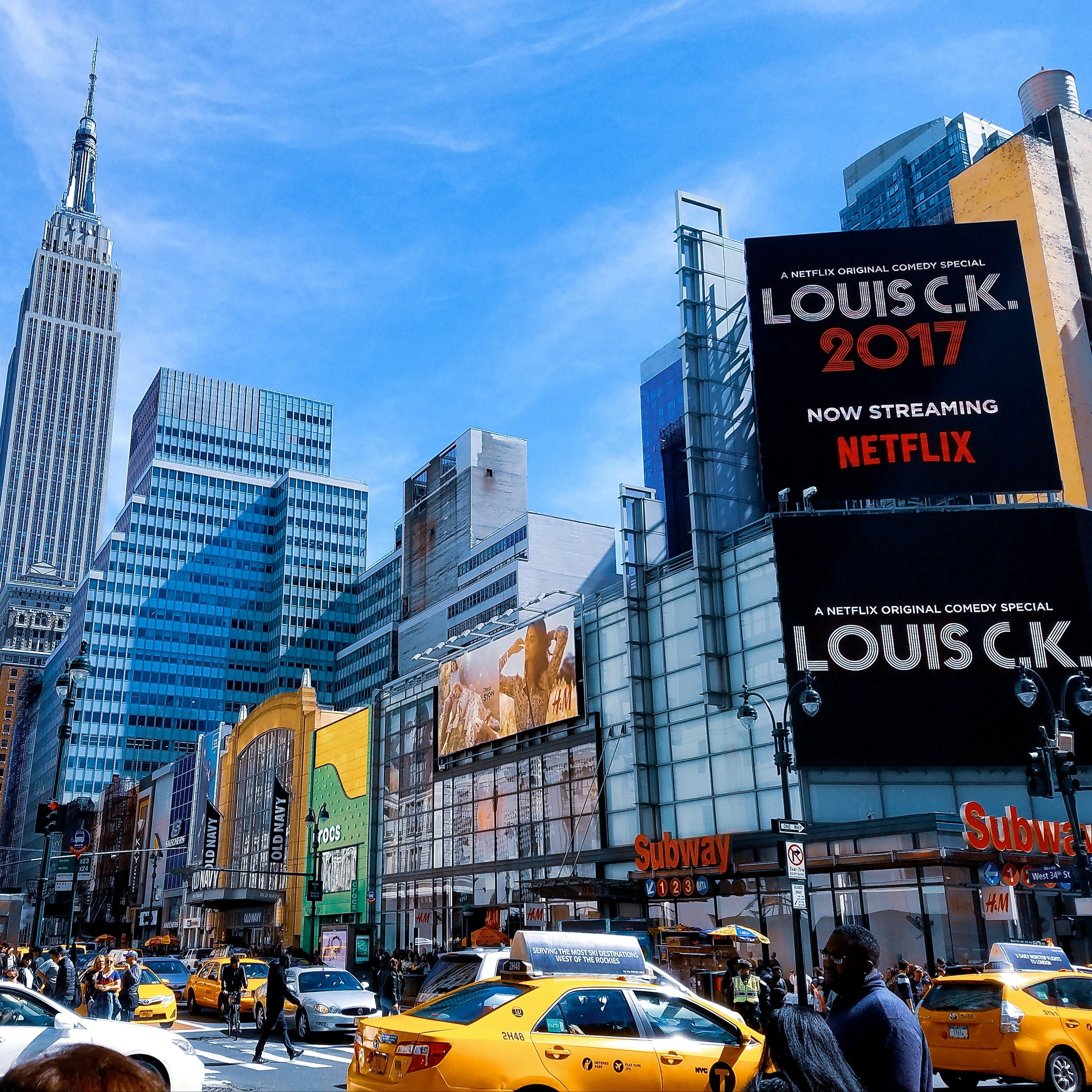 Landscape Photography of Time Square, New York City