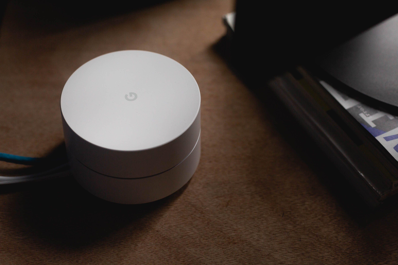 White Google Home