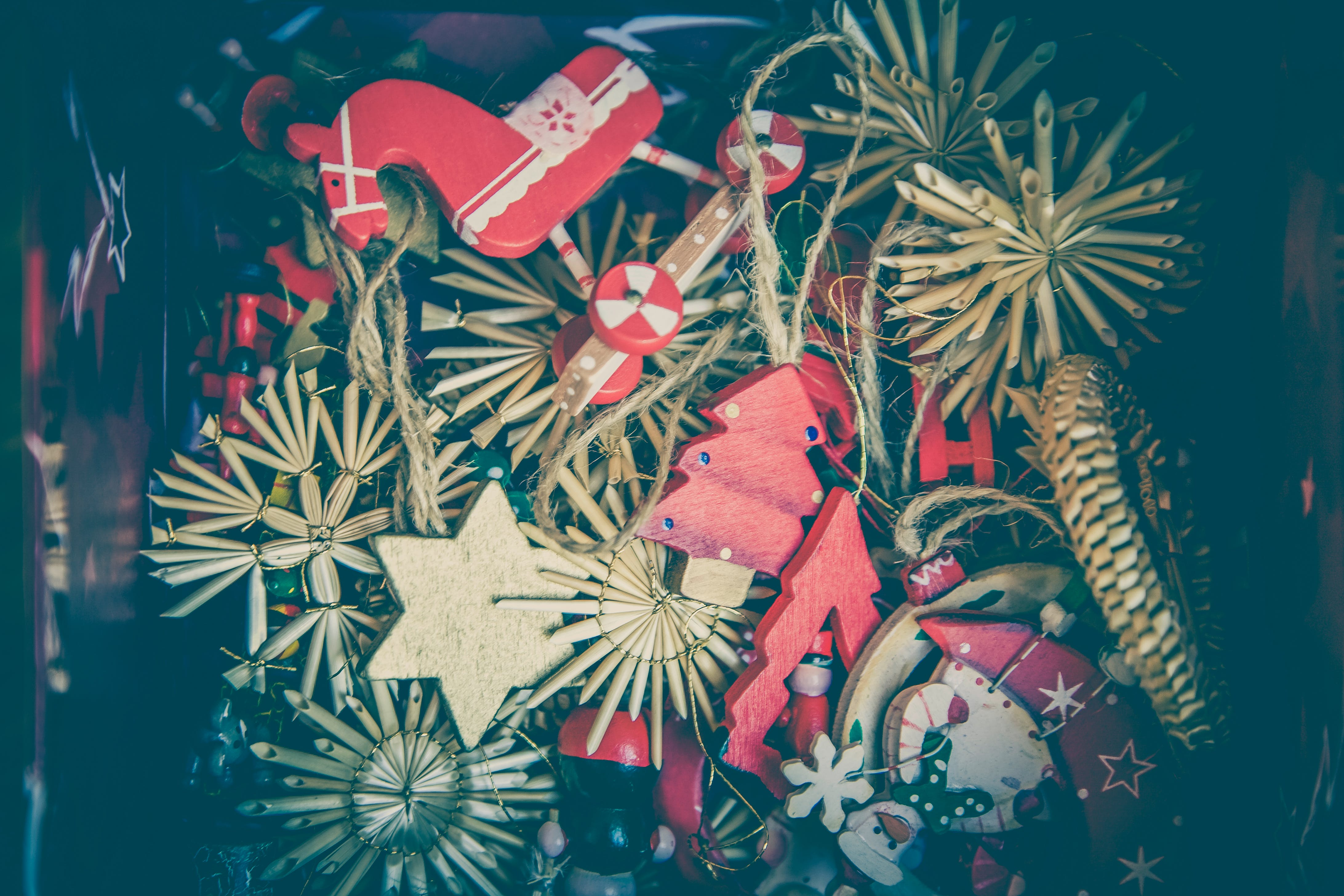 Gratis stockfoto met Kerstmis, kerstversieringen, kunst, ornamenten