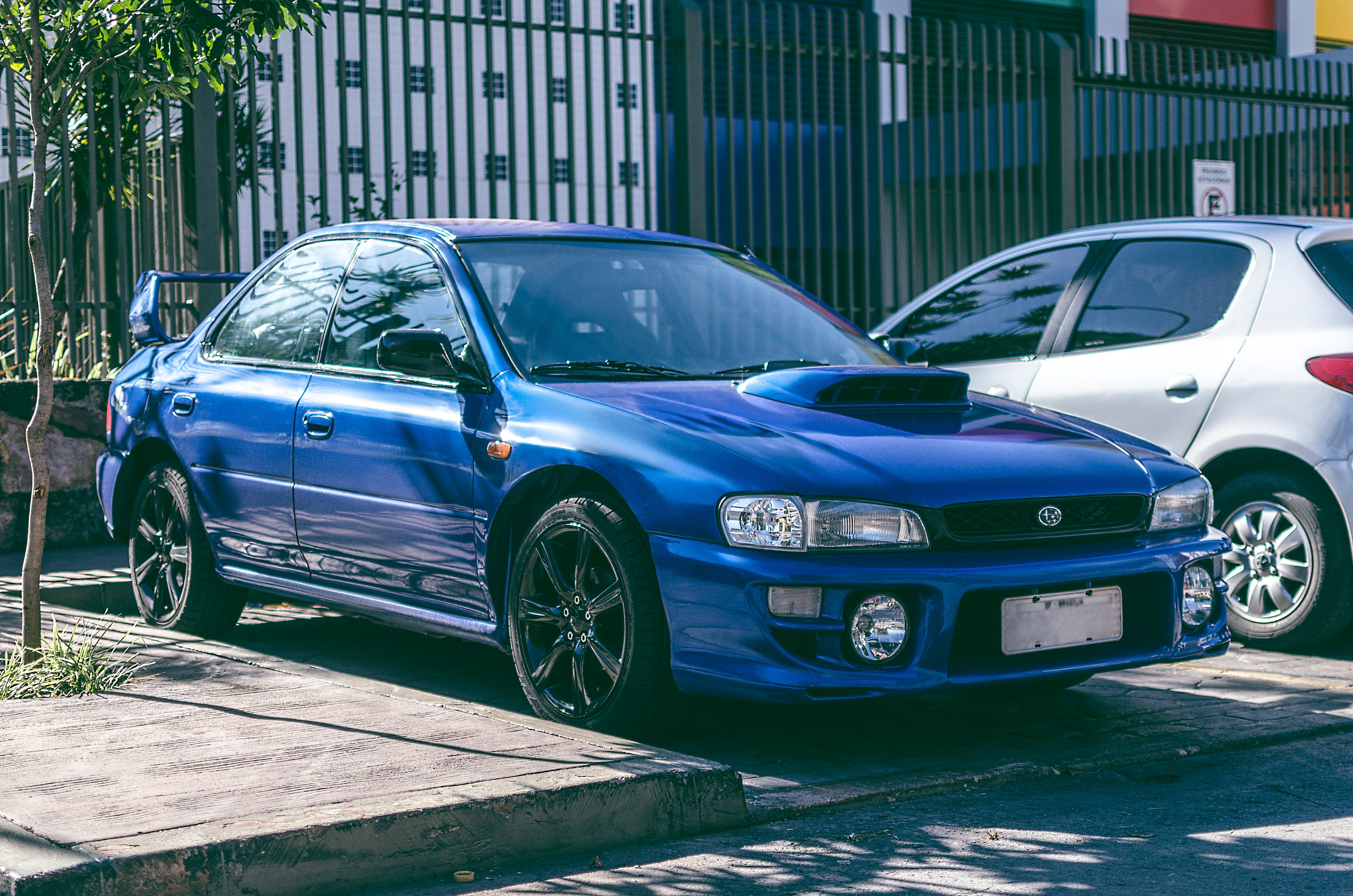 Free stock photo of car, import, Impreza, Japanese