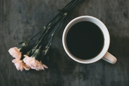 Základová fotografie zdarma na téma černá káva, dřevo, horko, horký nápoj