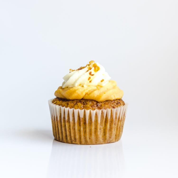 cupcake, αλοιφή, βούτυρο