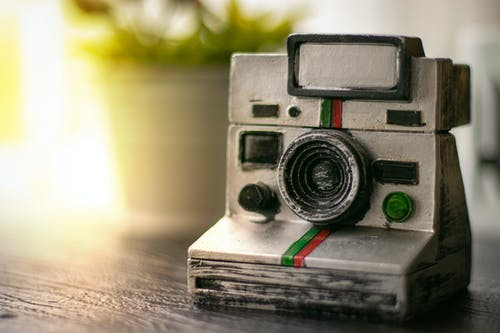 Photo of White Film Camera Miniature