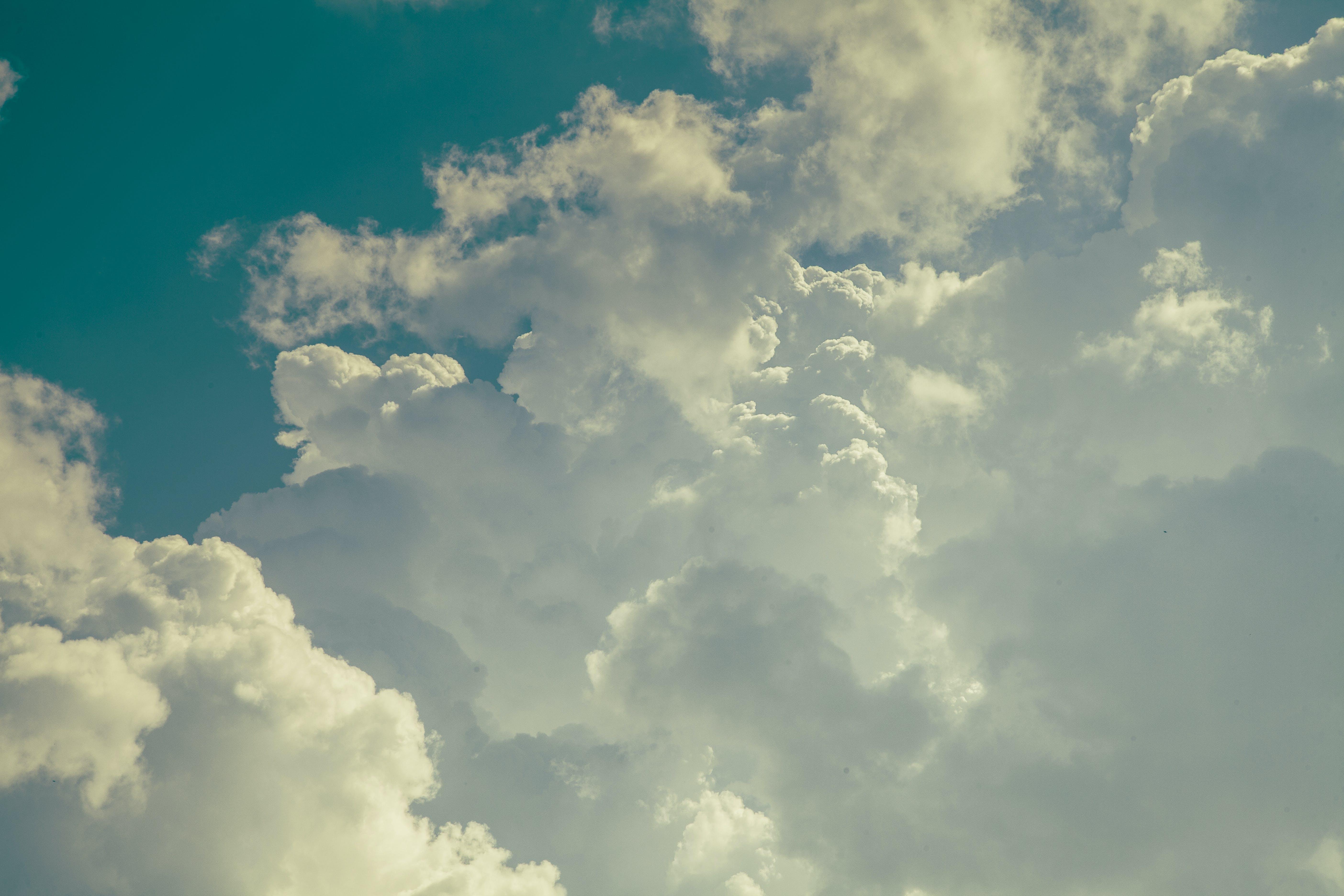 Free stock photo of background, background image, blue, cloud