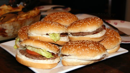 Free stock photo of burger, chicken, food, homemade