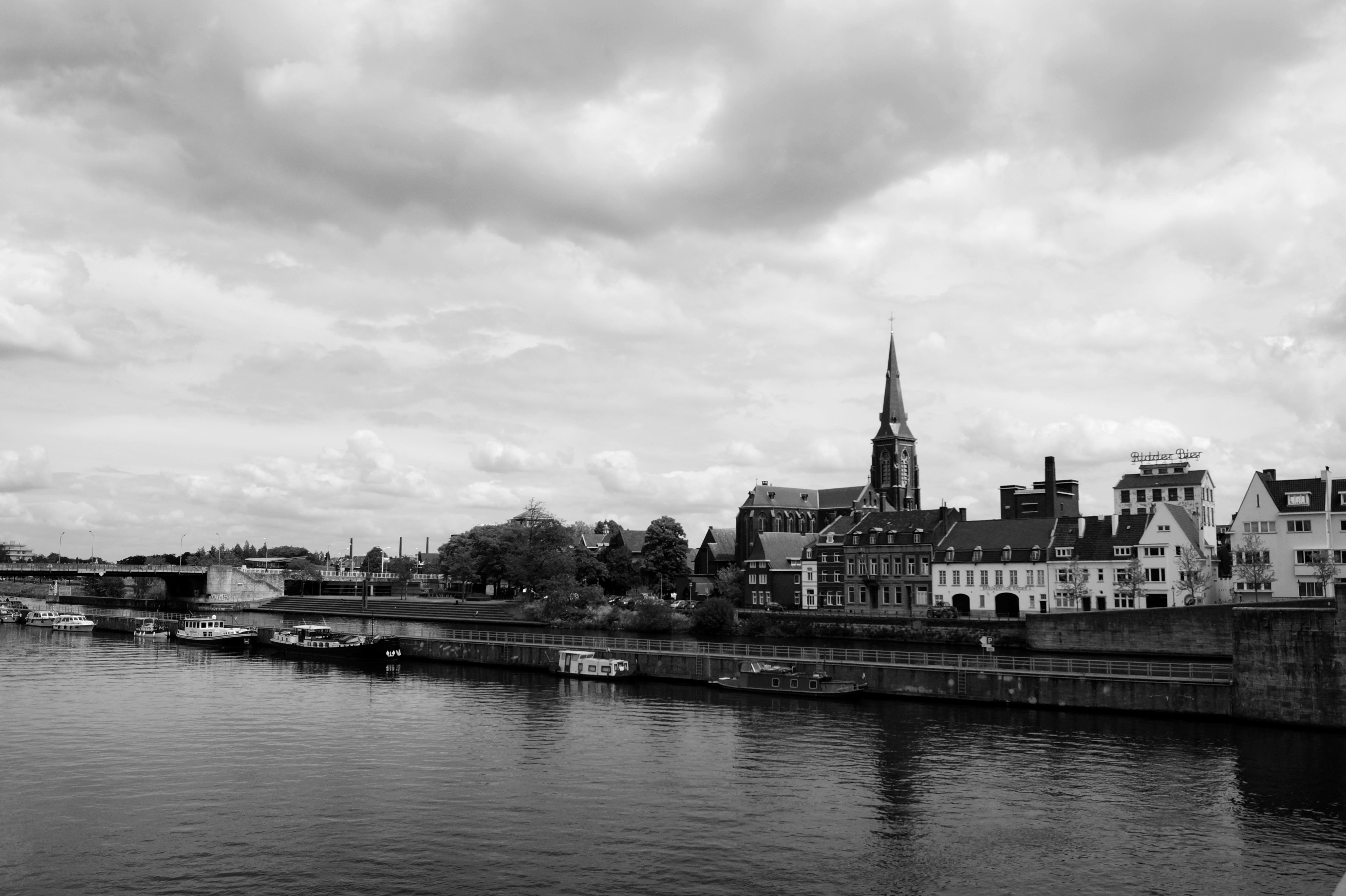 architecture, boats, bridge