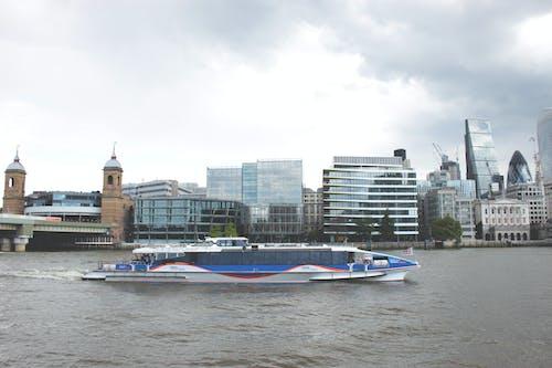 Kostenloses Stock Foto zu bau, bevölkerung, blau, boot fähre