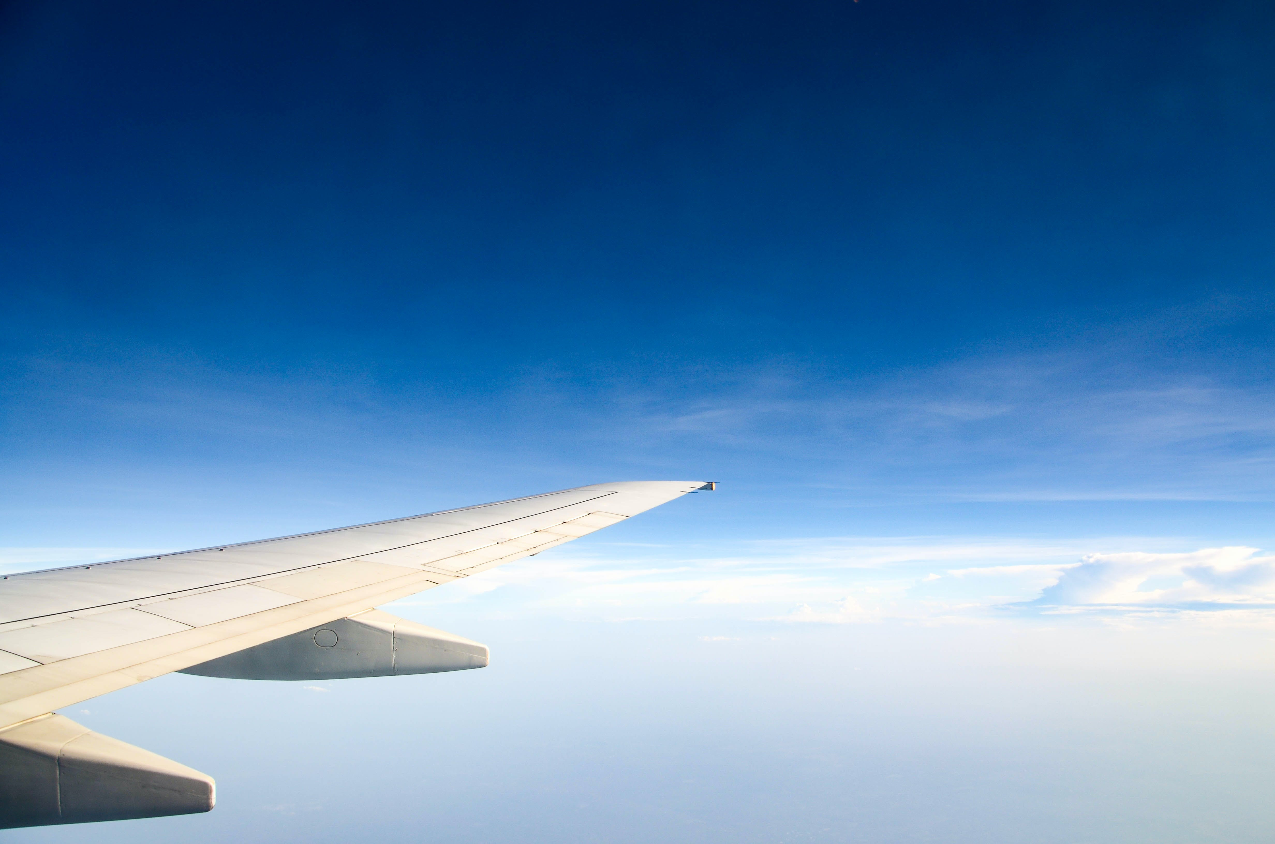 Photography of Aircraft Wing