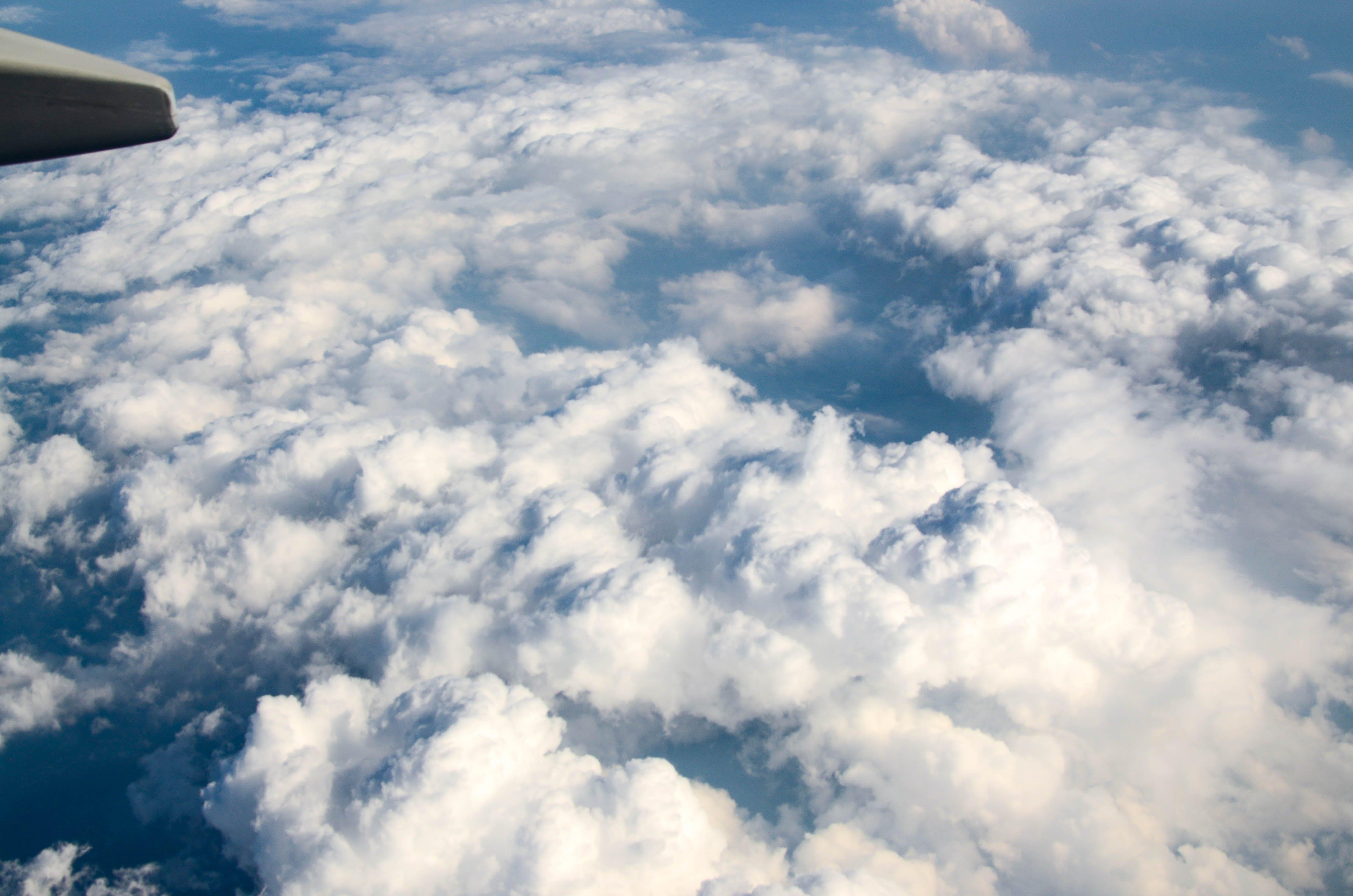 Free stock photo of aerial, aeroplane, air, aircraft