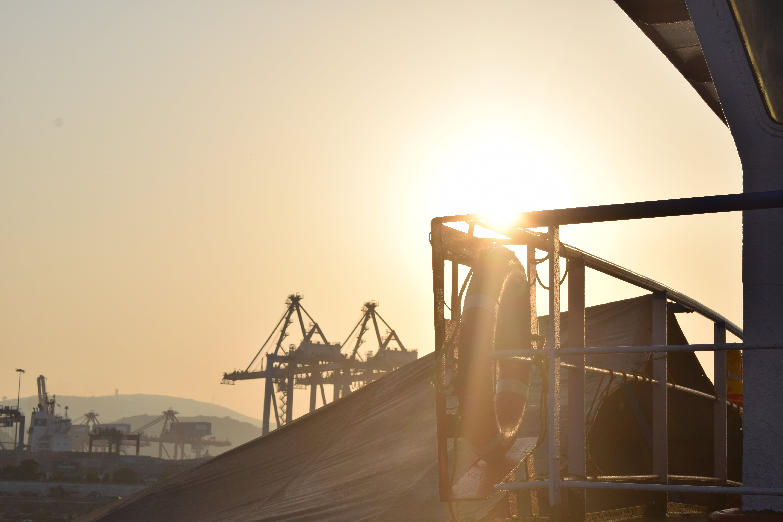 Free stock photo of boat deck, port, sunset, vizag