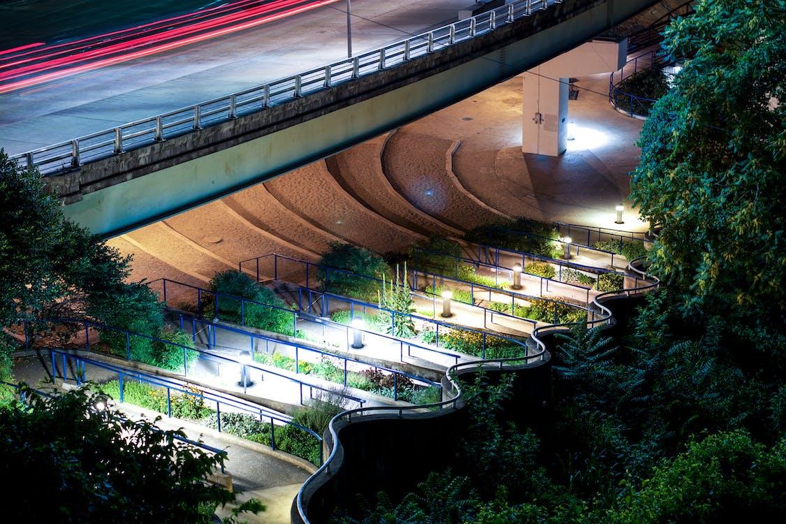 Free stock photo of bridge, car, city