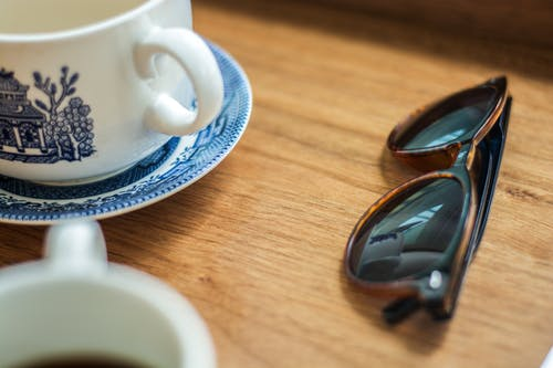 Free stock photo of blue, china, coffee, coffee shop