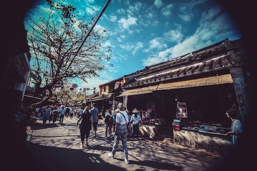คลังภาพถ่ายฟรี ของ กลางวัน, การท่องเที่ยว, ตลาด, ตัวเมือง