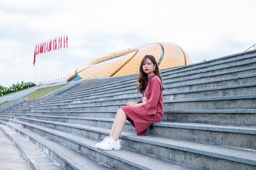 Бесплатное стоковое фото с азиатка, Азиатская девушка, девочка, дневной свет