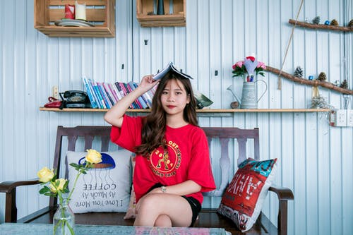 Gratis lagerfoto af afslapning, afslappet, asiatisk kvinde, Asiatisk pige