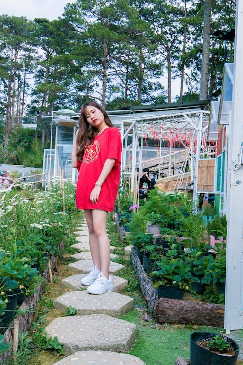 귀여운, 드레스, 레저, 모델의 무료 스톡 사진